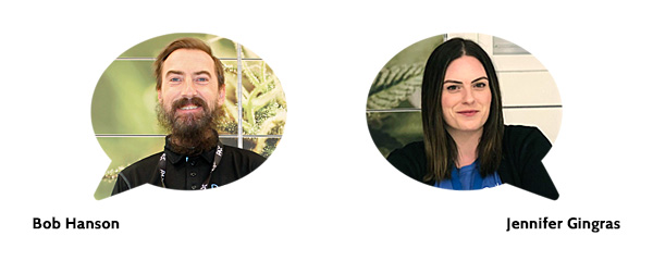 Bob Hanson and Jennifer Gingras – Cannabis Specialists at Delta 9 Cannabis Store