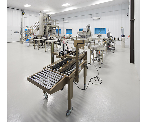 Delta 9 Cannabis – automated bottling plant