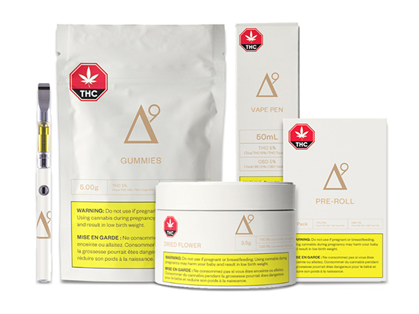A wide range of new cannabis products will be legal as of October 17, 2019